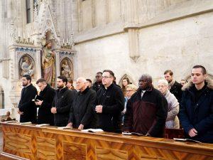 Zusammen mit dem Mönchen aus dem Stift Heiligenkreuz und dem Abt Dr. Maximilian Heim OCist feierten wir das Hochfest.