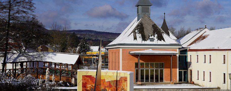 2019.01.11. - Schnee Katharinenkapelle Sonnenuhr_e_ fuerst-09102